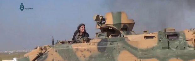 Door Amerika getrainde terroristen staan op het punt Syrische stad Palmyra aan te vallen. Dit is het achterliggende doel