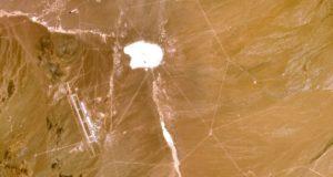 Satellietbeelden van geheimzinnige legerbasis bij Area 51 acht jaar niet bijgewerkt. Wat hebben ze te verbergen?