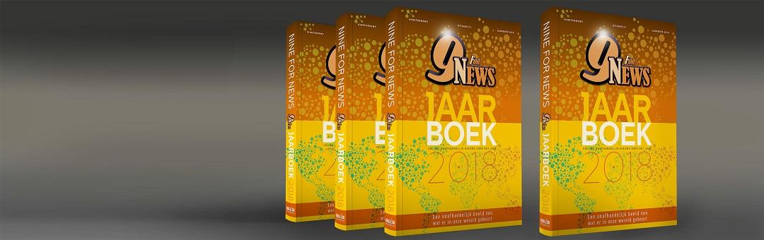 Exclusief verkrijgbaar: het NineForNews Jaarboek 2018. Dit is een geweldig cadeau voor de feestdagen