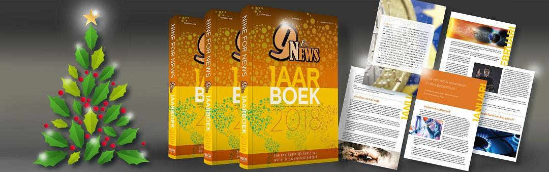 Exclusief verkrijgbaar: het NineForNews Jaarboek 2018. Ideaal voor de feestdagen