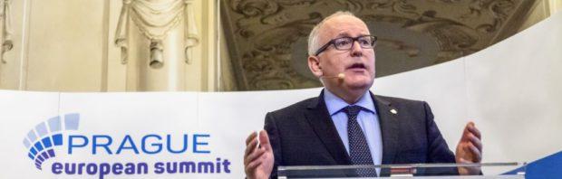 Stop de Europese elite! SP zet Frans Timmermans in veelbesproken verkiezingsfilmpje te kijk als machtswellusteling