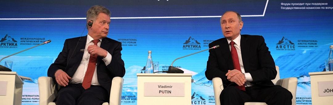 De oorzaak van global warming is niet duidelijk. President Poetin gooit knuppel in hoenderhok