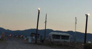 UFO-jager spot nieuwe ondergrondse basis bij Area 51. Bekijk de beelden