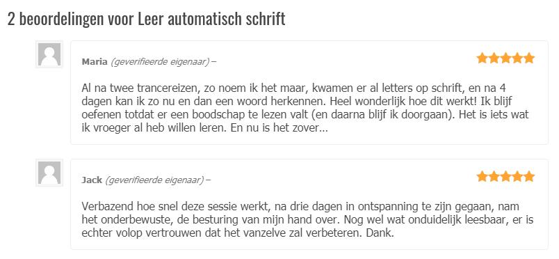 automatisch-schrift-reviews