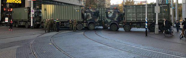 'Democratisch' Nederland anno 2020: LEGER bewaakt RIVM