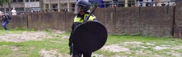 """Holländischer Offizier und Polizist: """"Es ist schockierend, was ich fast täglich erlebe"""""""
