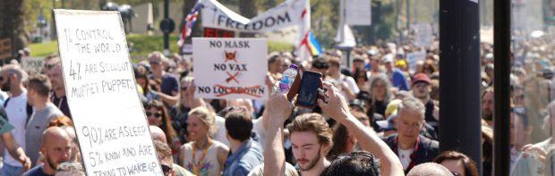 Fast 200'000 Briten unterzeichnen Petition zum Verbot der Diskriminierung von Ungeimpften