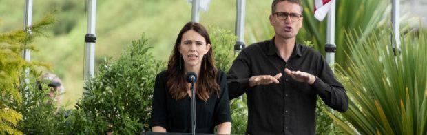 Hören Sie die Aussage des Premierministers von Neuseeland an. Nicht mal George Orwell hätte sich das träumen lassen