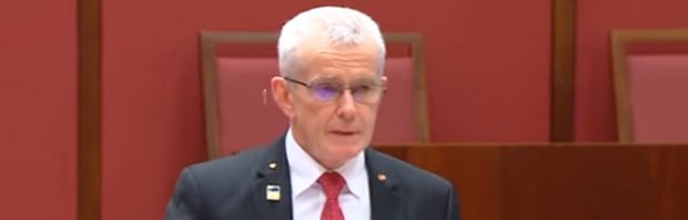 """Australischer Senator hält """"eine der besten politischen Reden aller Zeiten"""