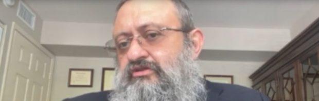 "Doktor Zev Zelenko warnt vor einem ""globalen Völkermord""."