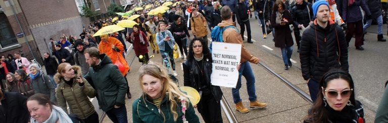 Holländer planen Massendemonstration