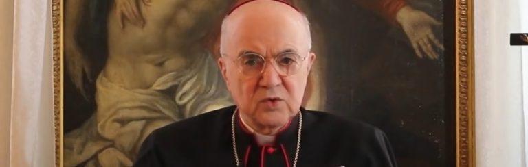 Erzbischof wendet sich gegen den Papst und Klaus Schwab vom WEF (Video)