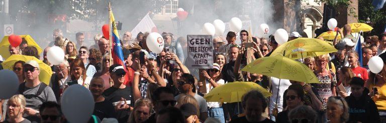 """Heute Sonntag in Amsterdam: Der größte Marsch der menschlichen Verbundenheit, 80 Gruppen – """"Jetzt reicht's""""!"""